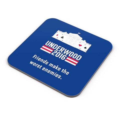 Buy Coasters Online | House Of Cards Quote Coaster Online India | PosterGuy.in