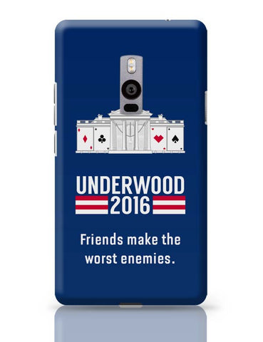 OnePlus Two Covers | House Of Cards Quote OnePlus Two Case Cover Online India