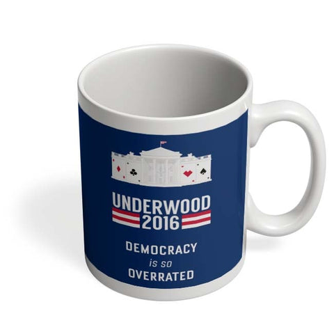 Coffee Mugs Online | House Of Cards Quote Coffee Mug Online India