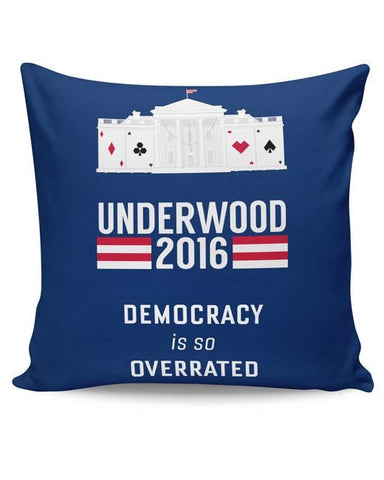 PosterGuy | House Of Cards Quote Cushion Cover Online India