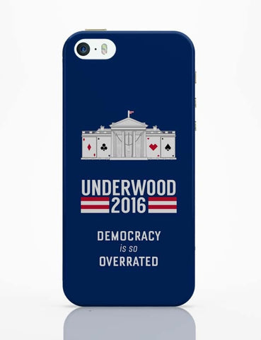 iPhone 5 / 5S Cases & Covers | House Of Cards Quote iPhone 5 / 5S Case Cover Online India