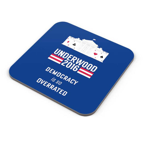 Buy Coasters Online | House Of Cards Quote Coasters Online India | PosterGuy.in