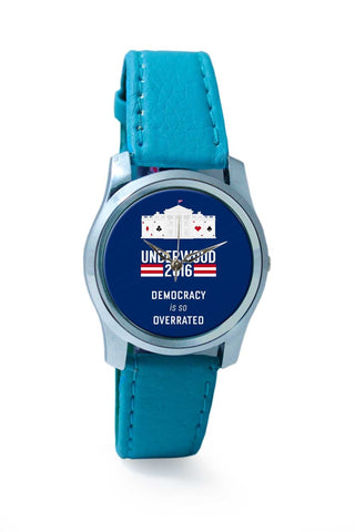 Women Wrist Watch India | House Of Cards Quote Wrist Watch Online India