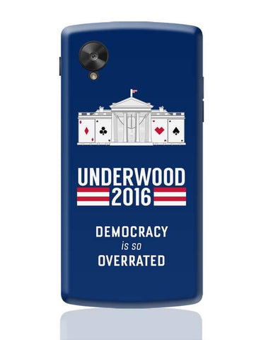 Google Nexus 5 Covers | House Of Cards Quote Google Nexus 5 Case Cover Online India