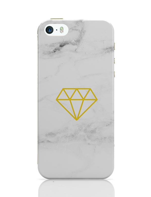 best authentic 43b83 c30aa Geometric Diamond Marble iPhone 5 / 5S Case Cover