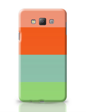Bright Stripes Samsung Galaxy A7 Covers Cases Online India
