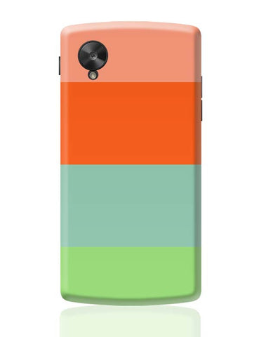 Bright Stripes Google Nexus 5 Covers Cases Online India