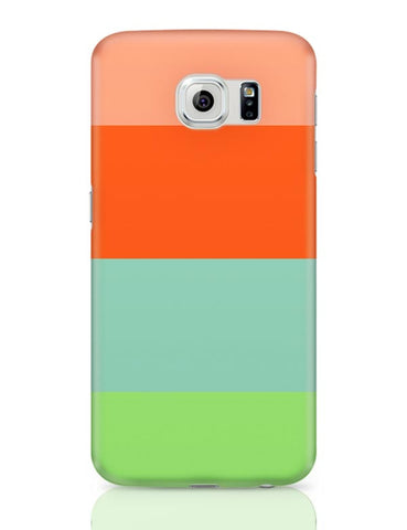 Bright Stripes Samsung Galaxy S6 Covers Cases Online India