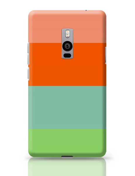 Bright Stripes OnePlus Two Covers Cases Online India