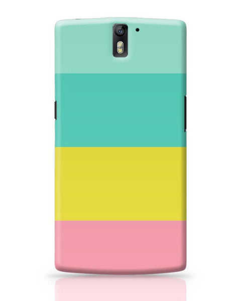 Candy Stripes OnePlus One Covers Cases Online India