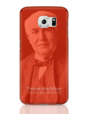 Thomas Alva Edison Samsung Galaxy S6 Covers Cases Online India