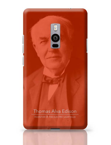Thomas Alva Edison OnePlus Two Covers Cases Online India