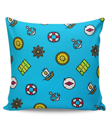 Pirate Pattern Cushion Cover Online India