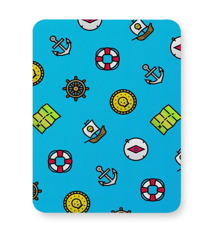 Pirate Pattern Mousepad Online India