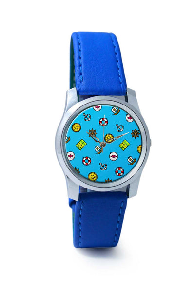 Women Wrist Watch India | Pirate Pattern Wrist Watch Online India