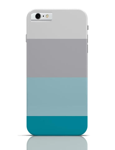 Blue-Grey-White iPhone 6 / 6S Covers Cases
