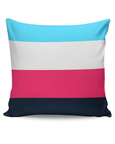 Coloured Stripes Cushion Cover Online India