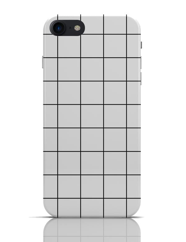 Buy Monochromatic Grid V1.0 iPhone 7 Covers Cases Online India ... 69cd3c6a6