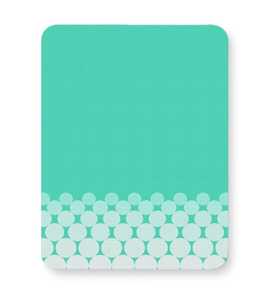 Gradient Circles - Aqua Mousepad Online India
