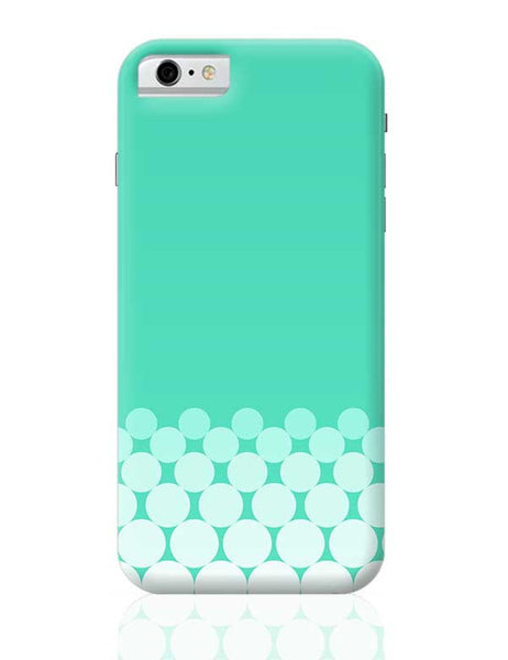 Gradient Circles - Aqua iPhone 6 / 6S Covers Cases
