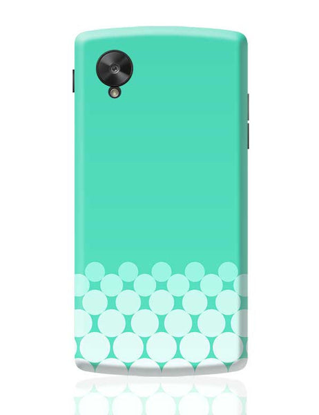Gradient Circles - Aqua Google Nexus 5 Covers Cases Online India