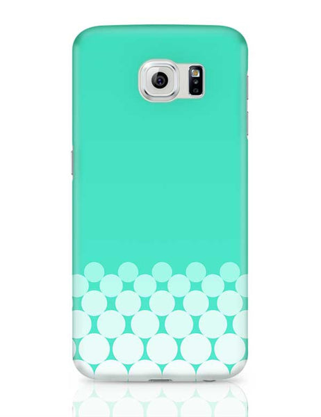 Gradient Circles - Aqua Samsung Galaxy S6 Covers Cases Online India