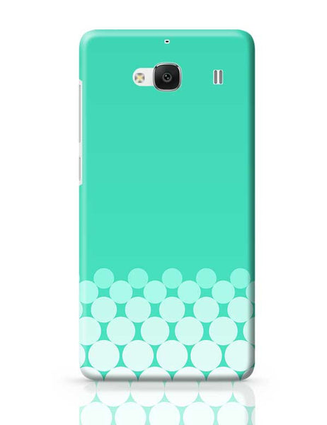 Gradient Circles - Aqua Redmi 2 / Redmi 2 Prime Covers Cases Online India
