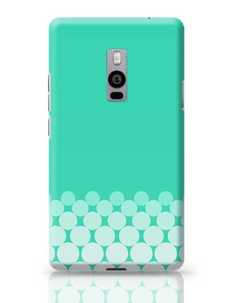 Gradient Circles - Aqua OnePlus Two Covers Cases Online India