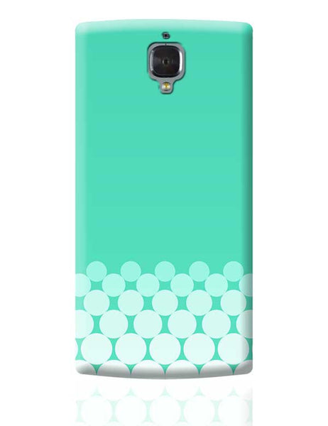 Gradient Circles - Aqua OnePlus 3 Covers Cases Online India