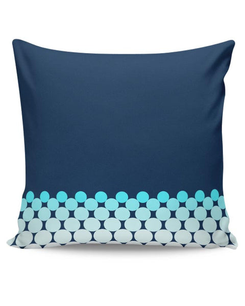Gradient Circles - Night Cushion Cover Online India
