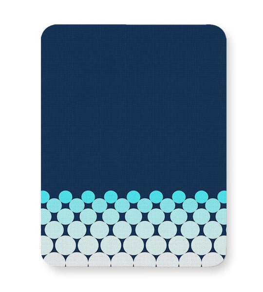 Gradient Circles - Night Mousepad Online India