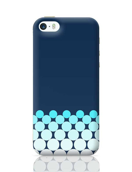 Gradient Circles - Night iPhone 5/5S Covers Cases Online India