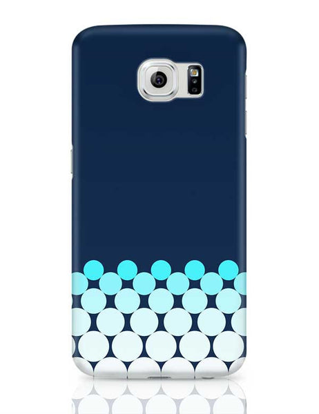 Gradient Circles - Night Samsung Galaxy S6 Covers Cases Online India