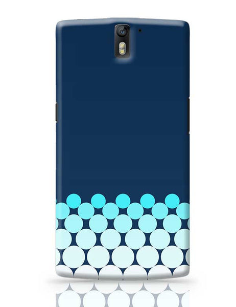 Gradient Circles - Night OnePlus One Covers Cases Online India