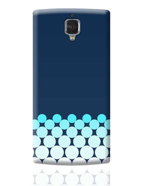 Gradient Circles - Night OnePlus 3 Covers Cases Online India