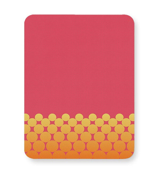 Gradient Circles - Fire Mousepad Online India