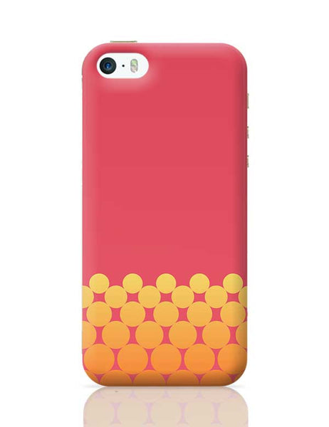Gradient Circles - Fire iPhone 5/5S Covers Cases Online India