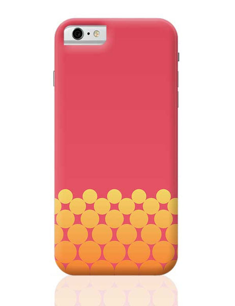 Gradient Circles - Fire iPhone 6 6S Covers Cases Online India