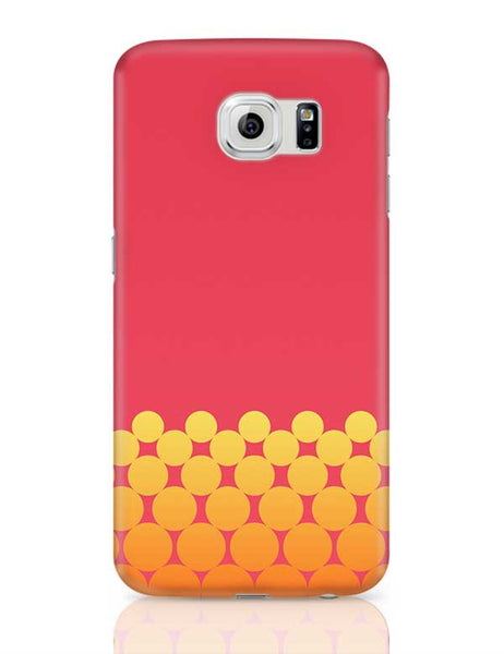 Gradient Circles - Fire Samsung Galaxy S6 Covers Cases Online India