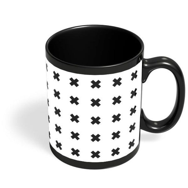 Crosses Black Coffee Mug Online India