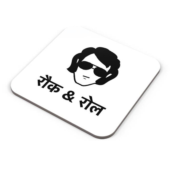 Rock & Roll - Quirky Coaster Online India