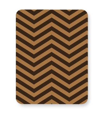 Brown Zig-Zag Mousepad Online India