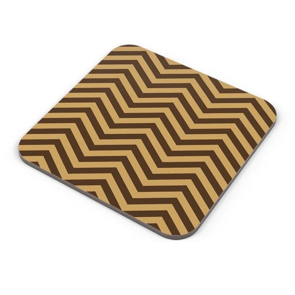 Brown Zig-Zag Coaster Online India