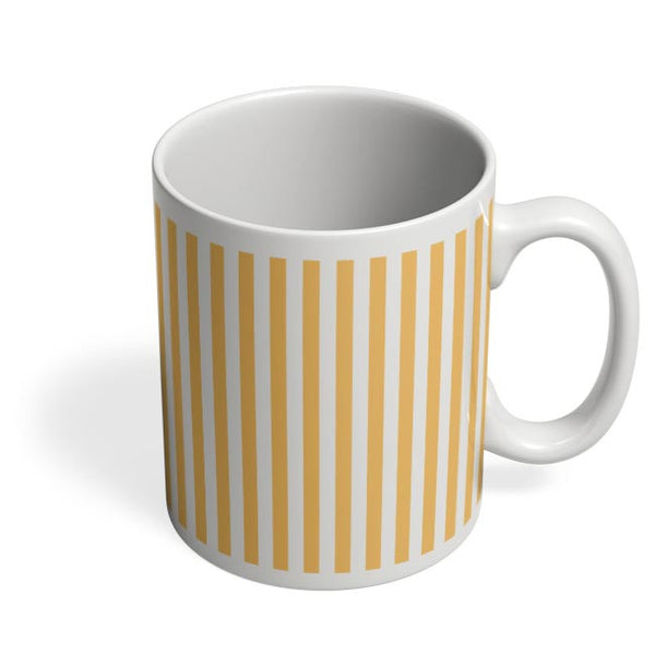 Orange Stripes Coffee Mug Online India