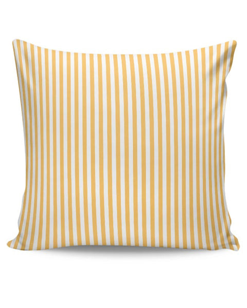Orange Stripes Cushion Cover Online India