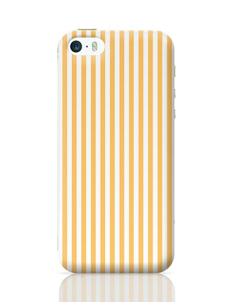 Orange Stripes iPhone 5/5S Covers Cases Online India