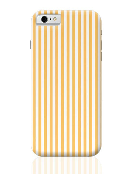 Orange Stripes iPhone 6 6S Covers Cases Online India