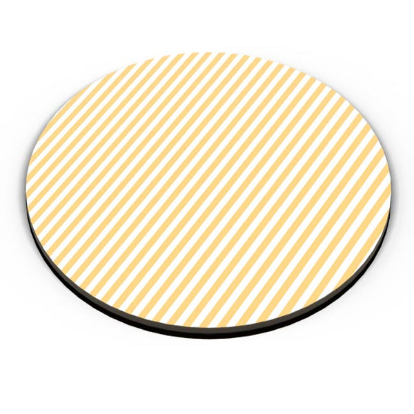 Orange Stripes Fridge Magnet Online India