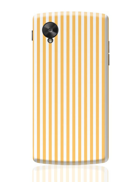 Orange Stripes Google Nexus 5 Covers Cases Online India