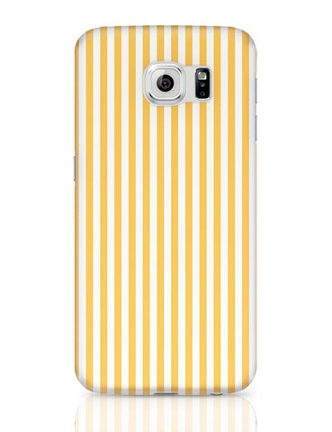 Orange Stripes Samsung Galaxy S6 Covers Cases Online India